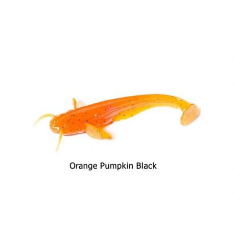 FishUp - Catfish 3 Inch - Orange Pumpkin Black