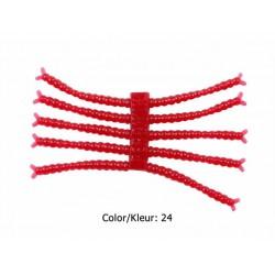 Perch'ik - 1 Inch - Bloodworm - Color 24