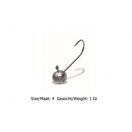 UL-Fishing - Loodkop - Haak 4 - Gewicht 1 Gr