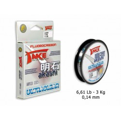 Take - Akashi Ultraclear Fluorocarbon - 0-14mm - 6-61Lb