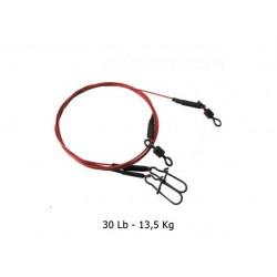 Predox - Blood Wire Leader - 20 cm - 30Lb - 13-5Kg