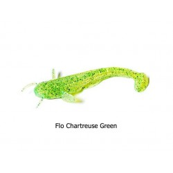 FishUp - Catfish 3 Inch - Flo Chartreuse Green