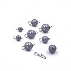 Cheburashka - Flexheads - Lead Jig Balls