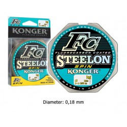 Steelon Spin - Fluorocarbon coated - 0.18 mm
