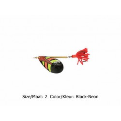 Ondex - Classic Spinner - Size 2 - Color - Black-Neon
