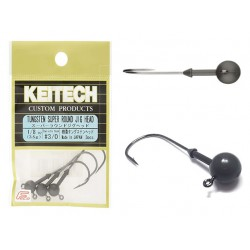 Keitech - Tungsten Super Round Jig Head