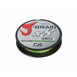 Daiwa - J-Braid X8 - 0-06 mm - 150 m - Chartreuse