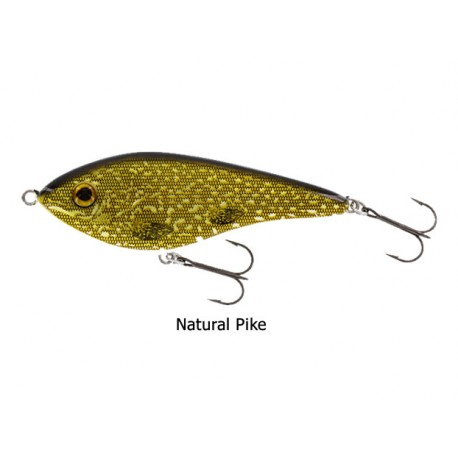 Westin - Swim - Jerkbait - 6,5 Cm - 9 Gr - Natural Pike - Suspending