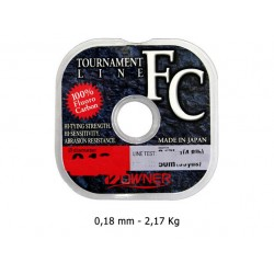Owner - Tournament Fluorocarbon - 0.18 mm