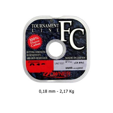 Owner - Tournament Fluorocarbon - 0.18 mm