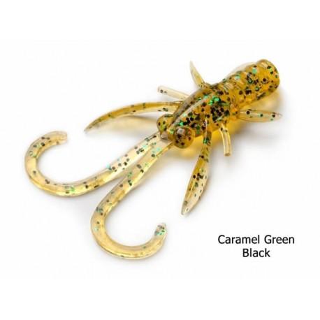 Fishup - Baffi Fly - 1,5 Inch - 036 Caramel Green Black