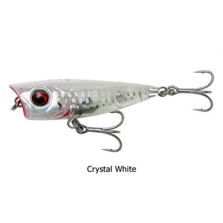 Savage Gear - 3D Minnow Popper - Crystal White