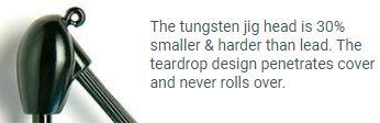 Tungsten Jighead