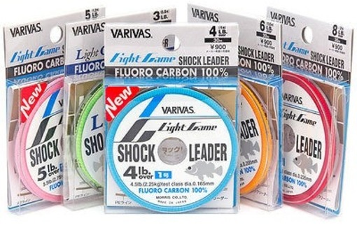 Varivas - Light Game Shock Leader- Fluorocarbon